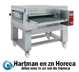 FTEV 100/130-N - Elektrische pizza band tunnel-oven geventileerd, breedte 1000 mm DIAMOND