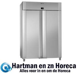 961400011 - ECO PLUS K 140 CCG - 2-deurs koelkast - Volledig RVS - 2/1 GN GRAM