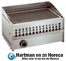 508200 - Lavasteengrill gas - 1 Zone - RVS 8000 Watt