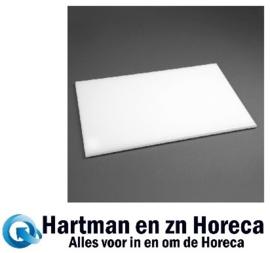 F157 -Hygiplas antibacteriële HDPE snijplank wit