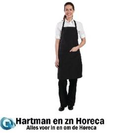 B229 - Chef Works krijtstreep halterschort