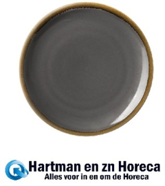 HC387 -Olympia Kiln ronde coupeborden grijs