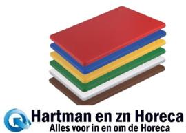 HC869 -Hygiplas HDPE kleine snijplanken set 300x225x12mm
