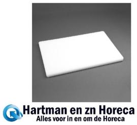 DM001 -Hygiplas LDPE extra dikke snijplank wit