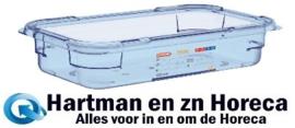 GP578 - Araven ABS blauwe GN 1/3 voedseldoos 6,5cm diep