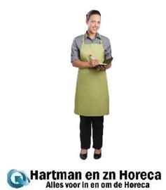 B190 -Chef Works halterschort limoen