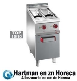 E7/F2V7A4 - Elektrische friteuse 2 kuipen van 7 liter op kast DIAMOND Optima 700