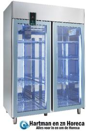 402729512 - Bedrijfskoelkast, met circulatiekoeling voor GN 2/1 bedrijfsklaar Inhoud 1037 liter KU 1402-G  NORDCAP