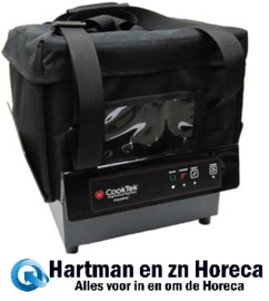 TCS/T200+TCSBAG+TCS-PT - CookTek ThermaCube Delivery System compleet - Small