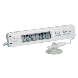 F314 -Hygiplas koeling- en vriezerthermometer met alarm