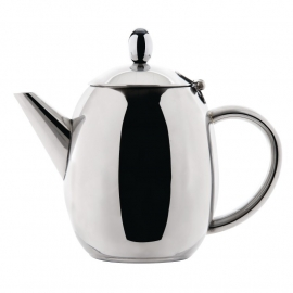 GF234 -  Olympia Richmond RVS theepot 0,5ltr
