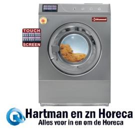 """DRW18-TS/D - Wasmachine met vloerbevestiging """"R.V.S."""" 18 kg met TOUCH SCREEN DIAMOND"""