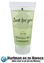 GF948 - Shampoo/conditioner, 20ml - Prijs en verpakking per 100 stuks.