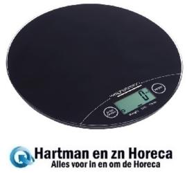 GG017 -Weighstation elektronische ronde weegschaal 5kg