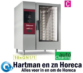 SDG/XC-10 - Combisteamer Gasoven 10x GN 1/1+Cleaning DIAMOND