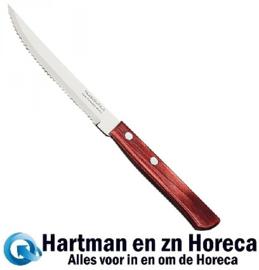 727001 - Tramontina steak/bistromes bruin polyw. 210 mm