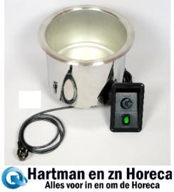 08.2054-1 - Soup well – met siliconemat verwarming – vervangende unit MOBILE CONTAINING