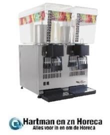 K280 -Santos dubbele drankdispenser 2x12L