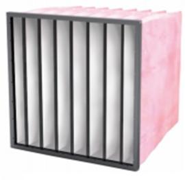 04161 - Synthetisch Meerlaags  zakkenfilter, klasse F7 - IFS85 SF - B288 X H592 X D360 - 4 ZAKKEN