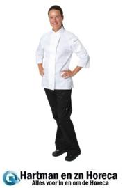 B186 -Chef Works Verona Cool Vent dames koksbuis wit met grijs