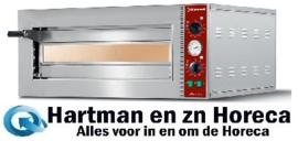 MACRO42-N - Elektrische pizza-oven Ø 420 mm, kamer 420x420xh140 mm DIAMOND