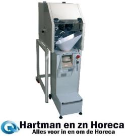 PPL-800/B3 - Portioneermachine 2400/800 st/u. van 50/300gr, onderstel en trechter DIAMOND
