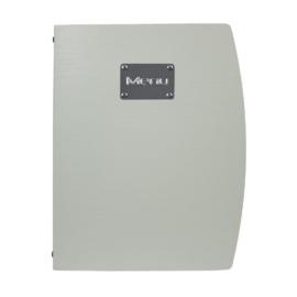 GL109 - Securit Rio A4 menuhouder zilver