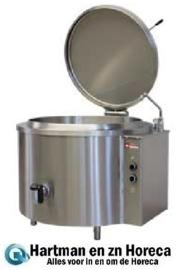 EMM/100I - Elektrische ronde kookketel 100 liter, indirecte verwarming DIAMOND