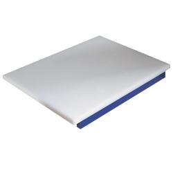 PDP/BL-A - Snijplank in polyethyleen voor vis (blauw)