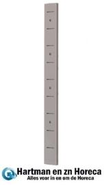 GN192 - Gastro M RVS plankdrager voor wandplank 60 cm