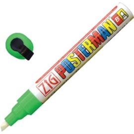 Y990 - Zig posterman weerbestendige stift groen 6 mm