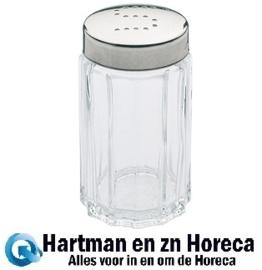 081025 - Zoutstrooier Glas 7 cm