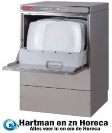 DK357 -Gastro M vaatwasmachine Maestro 50x50cm 230V met afvoerpomp, zeepdispenser en breaktank