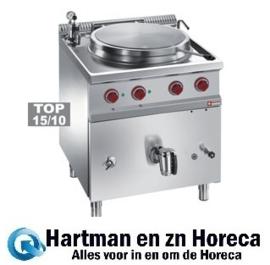 E7/M50I7 - Ronde elektrische kookketel 50 liter, indirecte verwarming DIAMOND