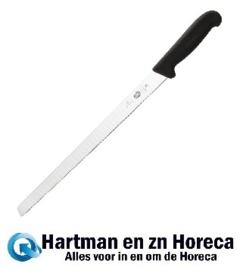C664 - Victorinox Fibrox gegolfd zalmmes 30,5cm