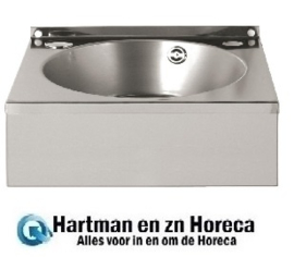 CC264 -Basix RVS handwasbak
