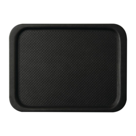 DA772 -Roltex Blackline antislipdienblad zwart 35x26cm