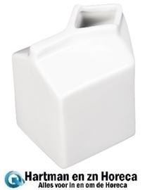 SA270 - Olympia Whiteware porseleinen melkkan melkpak 15cl (6 stuks)