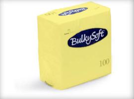 T32229 - Bulkysoft Servet 2 Laags 24×24 1/4 Vouw 3000st Lemon