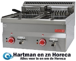 GL909 - Gastro M elektrische friteuse 10+10ltr - 60/60 FRE