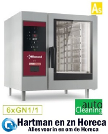 SBES/XC-06 - Combisteamer elektrische oven met boiler 6x GN 1/1+ Cleaning DIAMOND