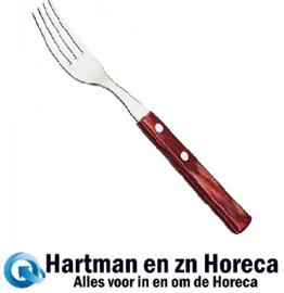 727002 - Tramontina steak/bistrovork bruin polyw 190 mm