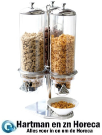 861150 - Cornflakes dispenser 3 x 4 Liter
