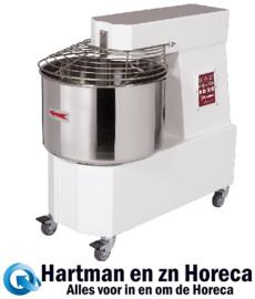 DH42/T2V - Spiraalkneder 42 liters, 2 snelheden, - Automatisch, digitaal, op wielen DIAMOND