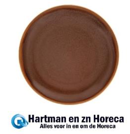 SA285 -Olympia Kiln coupe borden bruin 23cm