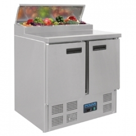 G604 - Polar gekoelde pizza/salade prepareer counter 254ltr