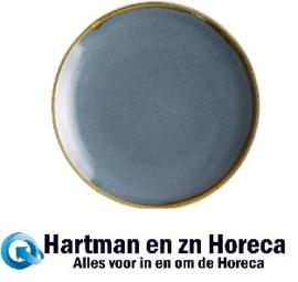 FA026 -Olympia Kiln ronde coupeborden blauw 17,8cm