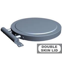 A7/C-DP Deksel kookketels gemaakt met dubbele wand DIAMOND