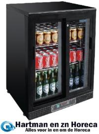 CD089 - Polar G-serie gekoelde bardisplay 140 flessen