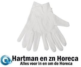A545-M -Dames serveerhandschoenen wit